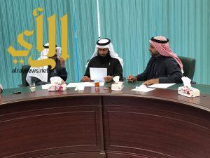 المجلس البلدي بمحافظه سراة عبيدة يعقد جلسته الشهريه بمقره الجديد بالبلديه