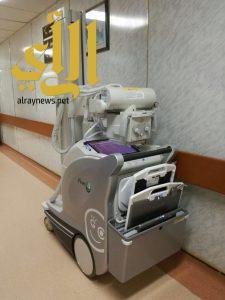 دعم مستشفى المجاردة العام بجهاز أشعة رقمي متنقل