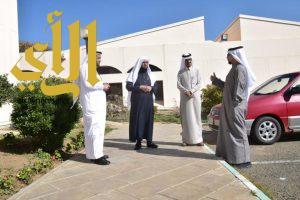 """""""بن فحاس"""" يزور مركز الأمير فيصل بن خالد للتربية الخاصة بأبها"""