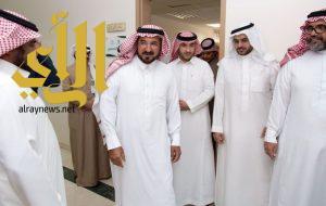وكيل إمارة الباحة يدشن مركز خدمات البريد السعودي بمركز اتصالات ديوان إمارة المنطقة