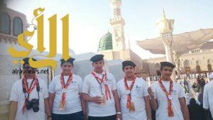 كشافة وادي الدواسر تبدأ مشاركتها بمهرجان التعليم للتربية الكشفية