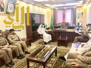 الدليوي يستقبل مدير مطار الملك سعود بالباحة