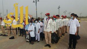 اختتام المشروع الكشفي الوطني لنظافة البيئة وحمايتها بتعليم جازان