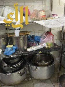 أمانة الباحة تصادر ربع طن من الدجاج واللحوم والخضروات الفاسدة