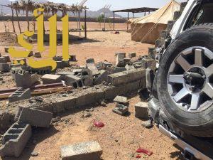 سقوط مقذوفات عسكرية حوثية على منطقة نجران ووفاة مقيم