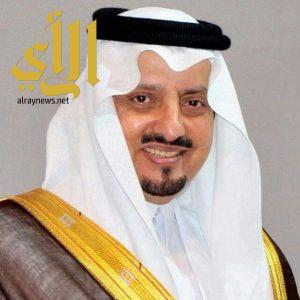 أمير عسير يشكر معالي وكيل إمارة منطقة الرياض