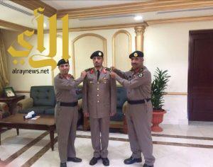 مدير شرطة منطقة عسير يقلد اليامي رتبة عميد