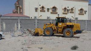بلدية بقيق تنفذ حملة نظافة عامة في محافظة بقيق والهجر التابعة