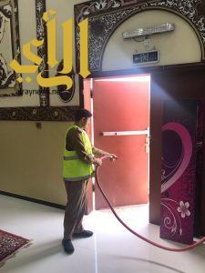 مدني نجران ينفذ حملة السلامة استعدادا لشهر رمضان