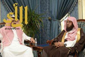 مدير الهيئات بالباحة … يزور أمين منطقة الباحة