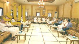 الوفد الوزاري من وكالة المباني بوزارة التعليم يشيد بجهود إدارة المباني بتعليم ألمع