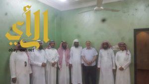 تنسيقي عسير يزور جمعية البر الخيرية بمركز النقيع