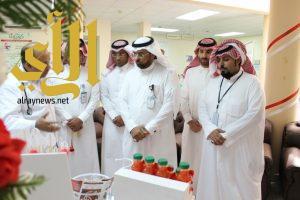 القطاع الصحي بمحافظة ظهران الجنوب يحتفل بفعاليات اليوم العالمي لضغط الدم