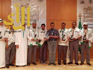 كشافة عسير تحصد جائزة التميز في المشروع الوطني لحماية البيئة