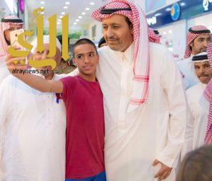 أمير الباحة يقوم بجولة ميدانية بالمنطقة