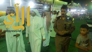 محافظ بني حسن يشارك رجال الأمن وجبة الإفطار
