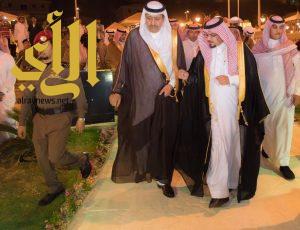 أمير منطقة الباحة يدشن عدداً من المشروعات التنموية بالمنطقة