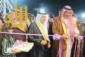 أمير الباحة يفتتح مهرجان بلجرشي للتسوق والترفيه