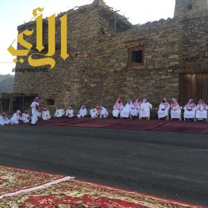 أهالي قرى الغتامية بمركز بيدة يقيمون حفل المعايدة السنوي