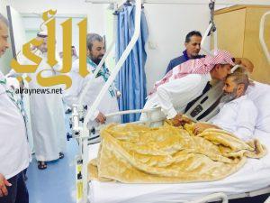 رواد الكشافة يعايدون المرضى المنومين بمستشفى الزلفي العام