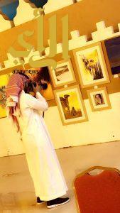 تدشين معرض الفن التشكيلي ضمن فعاليات صيف حائل 38