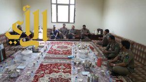 إدارة الدفاع المدني بالمجمعة تحتفل بعيد الفطر