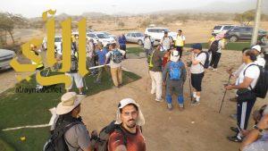 الهايكنج يقطع ١٥كلم لاستكشاف طبيعة بلجرشي