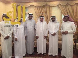 مجلس إدارة نادي الحجاز يزور أعضاء شرف النادي ورجال الأعمال بالمنطقة