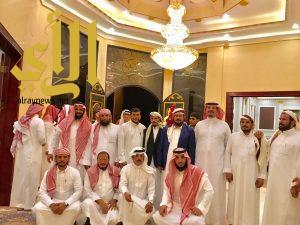 """ابن حامد يستقبل محافظ """"صعدة"""" وبعض شيوخ القبائل اليمنية"""