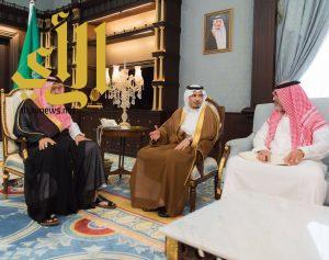 الأمير حسام بن سعود يستقبل الرئيس التنفيذي لهيئة الترفية