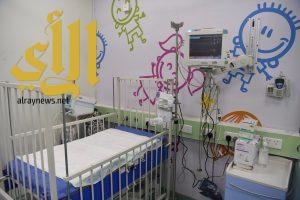 تدشين وحدة العناية المركزة للأطفال في مستشفى الملك سلمان بالرياض