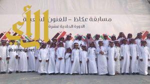 أشبال السوطه في مسابقة سوق عكاظ للفنون الشعبية للصغار
