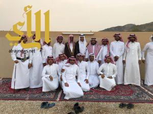 عبدالله بن علي يحتفل بزواج المهندسين سلطان وعبدالعزيز