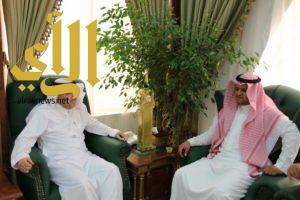 محافظ بلجرشي يستقبل وفد جمعية الأطفال المعوقين