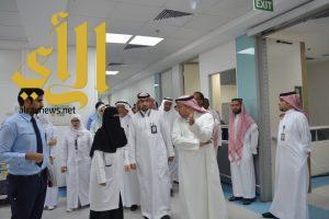 العصيمي تقف على جاهزية الخدمات الصحية بمستشفيات مكة
