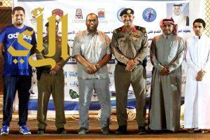 الترجي10 : مدير شرطة عسير يشرف لقاء البراق وصقور القاعدة