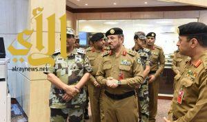 الفريق الحربي يتفقد قوات أمن الحج