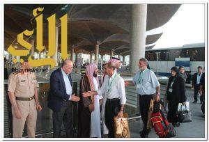 500 حاج من الضفة الغربية يغادرون عمان لأداء فريضة الحج