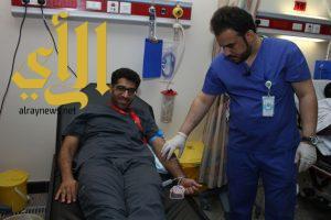 مستشفى منى الوادي ينظم حملة للتبرع بالدم