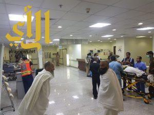 الصحة: مستشفى منى الجسر يستقبل 2176 حاجاً