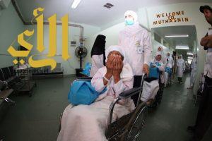 """حجاج بيت الله الحرام : """"الصحة"""" وفرت لنا خدمات صحية عالية"""