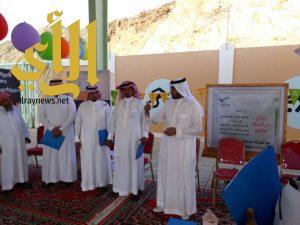 مسؤولو تعليم ألمع يتابعون انطلاق الدراسة في مدارس المحافظة