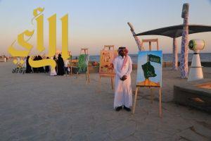 إقامة الملتقى  التشكيلي الأول لليوم الوطني الـ87 في محافظة ضبا