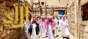أعضاء الصقور السعودية يزورون منطقة الباحة