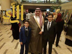 السلامة يترأس وفد المملكة بالمعرض التشكيلي الأول في الأردن