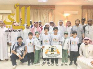 تدشين شعار البطولة الرياضية للصغار بوادي الدواسر