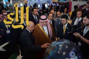 افتتاح معرض المملكة المشارك في سوق السفر العالمي بلندن