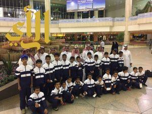 تميز آخر لتعليم الباحة في مهرجان الألعاب الرياضية المدرسية