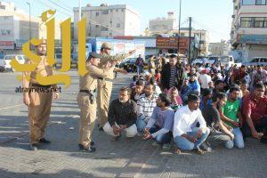 شرطة عسير تقبض على 149مخالفا لنظام الإقامة والعمل بخميس مشيط