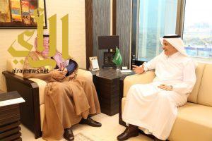 أمير منطقة الباحة يلتقي وزير البيئة والمياه والزراعة